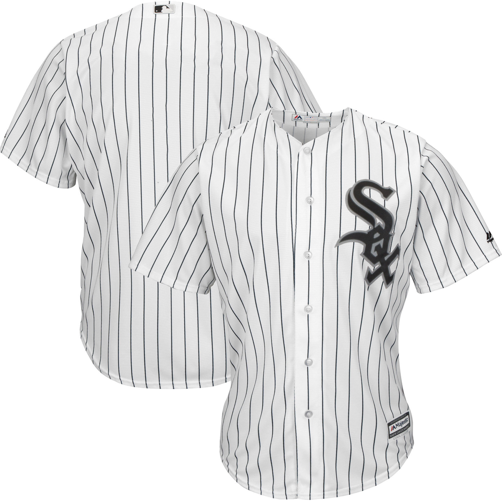 Chicago White Sox Majestic Official Cool Base Jersey - White