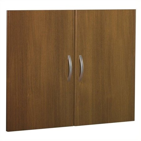 Bush Business Series C Half Height Door Kit (2 doors) in Warm Oak - image 3 of 3