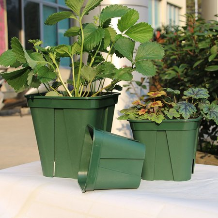 Breathable Plastic Flowerpot Cuttage Planting Plant Pot for Clematis China Rose Decoration - image 4 of 6