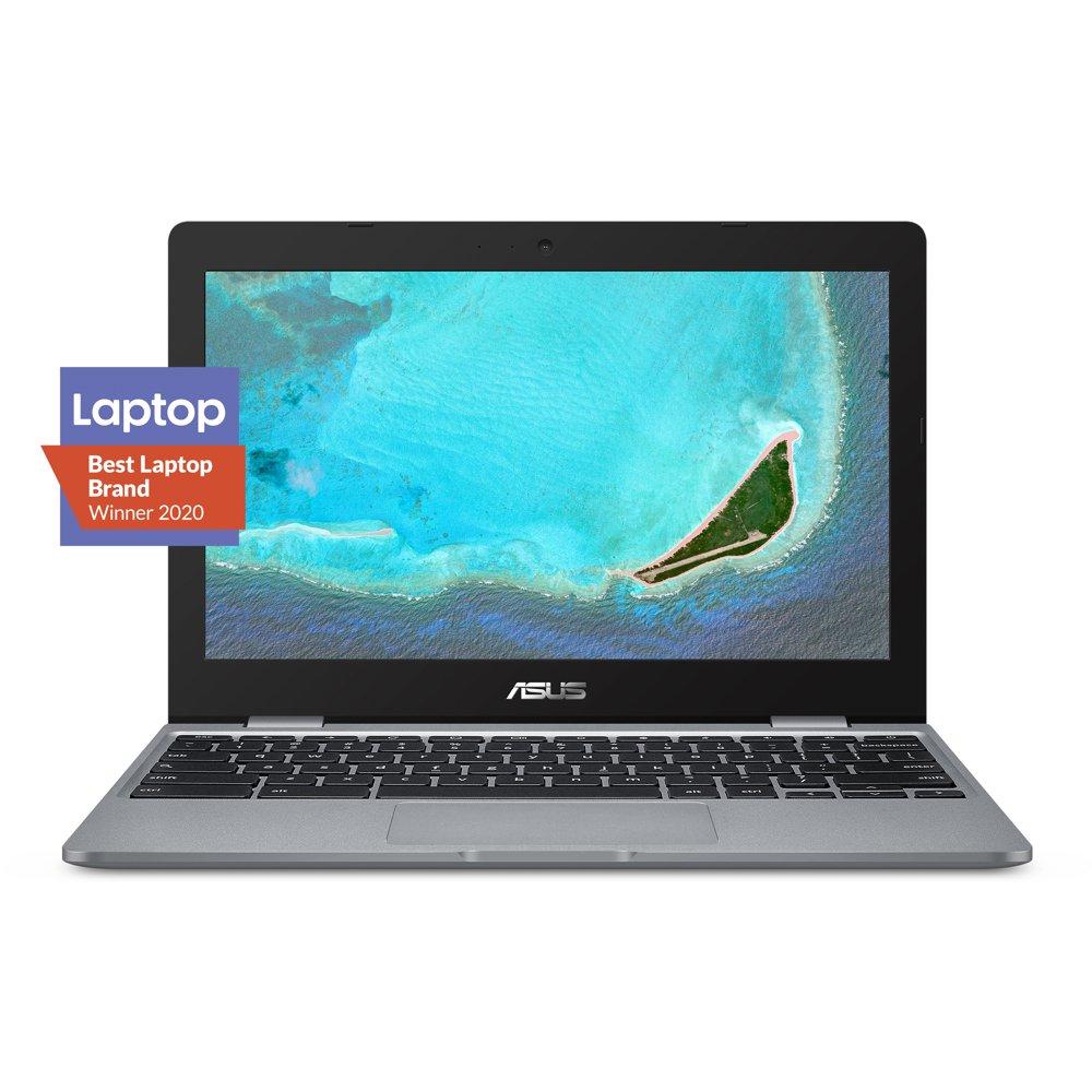 "ASUS Chromebook C223 Laptop - 11.6"" HD Anti-Glare Display, Intel Dual-Core Celeron N3350 Processor, 4GB RAM, 32GB eMMC Storage, Chrome OS, C223NA-DH02"