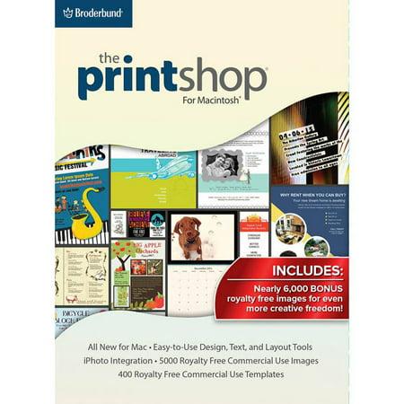 Encore Software LIC3933 Print Shop Mac (Digital Code) Barcode Label Printing Software