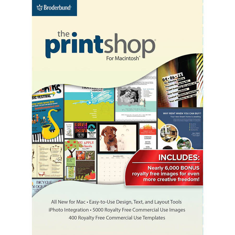 Encore Software LIC3933 Print Shop Mac (Digital Code)