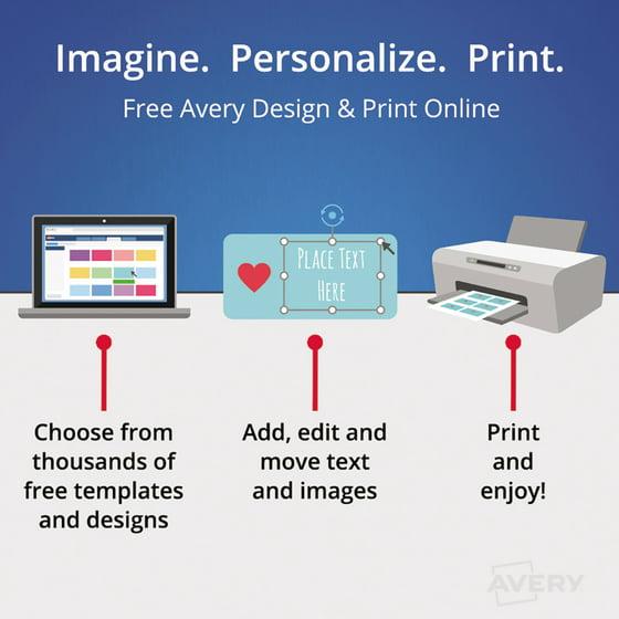 Averyr Easy Peelr Return Address Labels For Inkjet Printers 8167