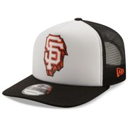 San Francisco Giants New Era Foam Front Trucker 9FIFTY Snapback Hat - White - OSFA