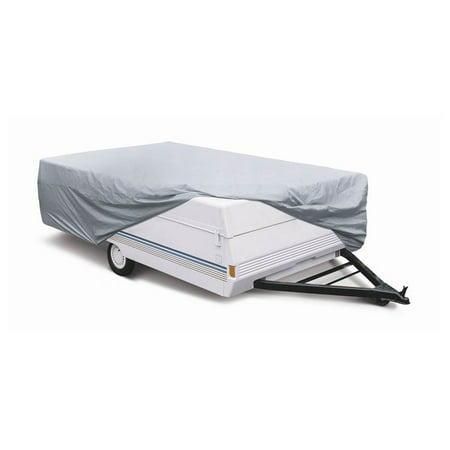 Polypropylene Folding Tent Trailer Cover in Grey (Model 1)