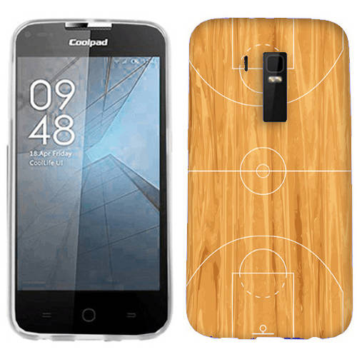 Mundaze Basketball Court Phone Case Cover for CoolPad Rogue