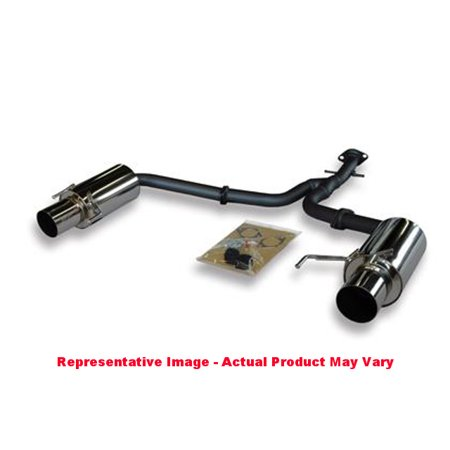 HKS 32003-BT002 Hi-Power Exhaust, Rear Section ONLY, Includes Y-Pipe  Fits:LEXUS