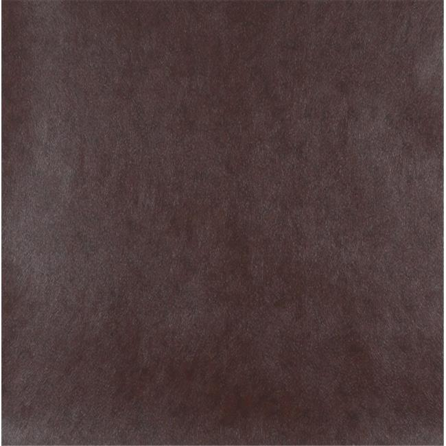 Designer Fabrics G509 54 in. Wide Brown, Upholstery Grade Recycled Leather