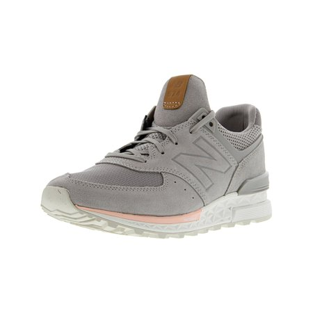 Gazelle 2 Leather Shoe (New Balance Ws574 Leather Fashion Sneaker - 8.5M -)