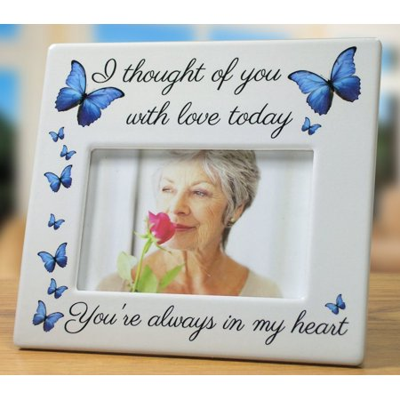 Memorial Picture Frame - I Thought of You with Love Today ()