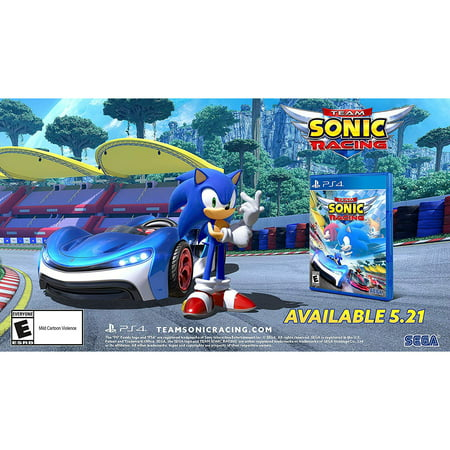 Team Sonic Racing, Sega, PlayStation 4, (Best Team Games Ps4)