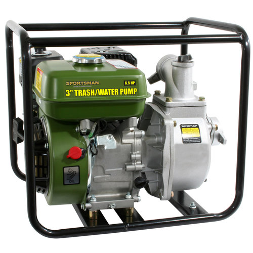 Buffalo Tools TWP365 3in 6.5 HP Trash Water Pump