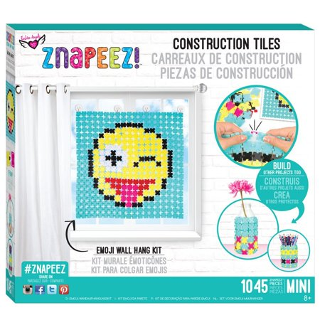 Emoji Wall Hanging Kitkit Includes Znapeez Tiles And Snaps Suction