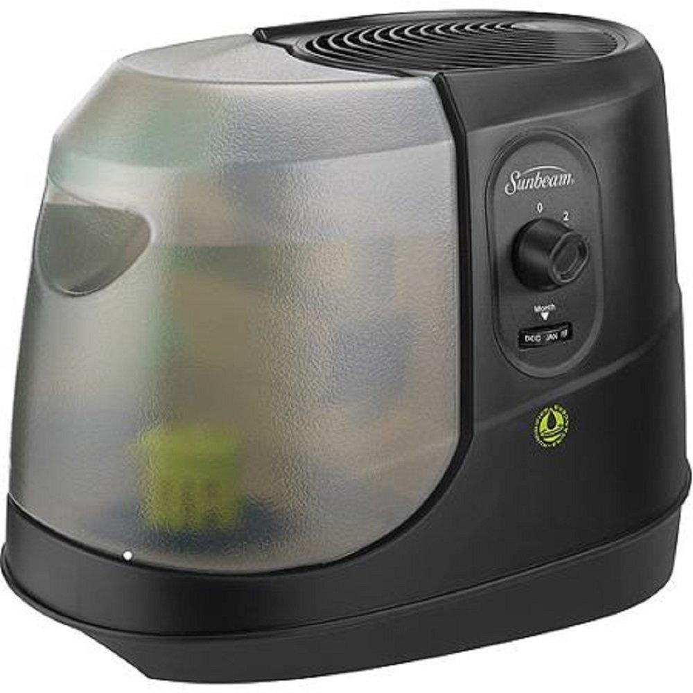Cool Mist Humidifier, Scm1100 Black By Sunbeam