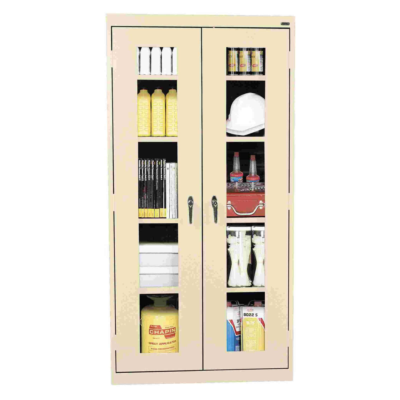 Edsal Clear View Industrial Strength Steel Storage Cabinet