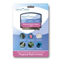 Sound Oasis HC-SC250-03 Tropical Rain Forest Sound Card for S-550-05 Sound Therapy System