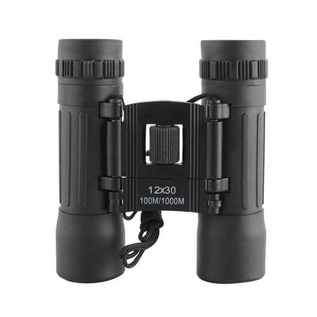 12X30 96/1000m Mini Sports Optics Binocular Telescope Spotting Scope for Hunting Camping Hiking Traveling (Best Hunting Spotting Scope For The Money)