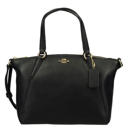 COACH Womens Mini KELSEY Satchel Crossbody Leather Handbag