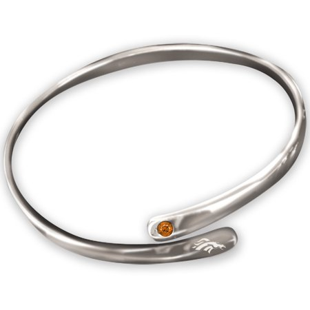 Denver Broncos WinCraft Women's Cuff Bracelet - Silver - No Size Denver Broncos Silver Laser