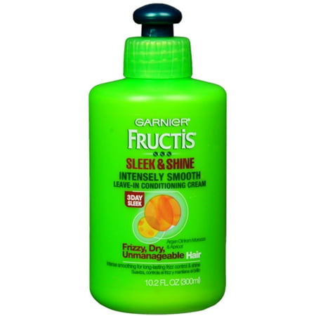 - Garnier Fructis Style Sleek & Shine Intensely Smooth Leave-In Conditioning Cream 10.2 oz (Pack of 2)