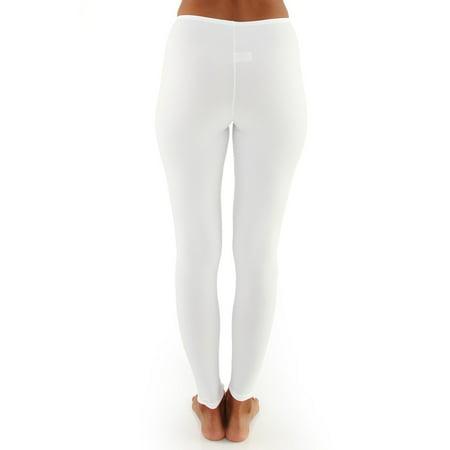 Women's Elita 2300 Warm Wear Microfiber Ankle Legging (White S) - image 4 of 4