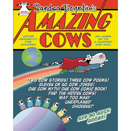 Amazing Cows - Paperback