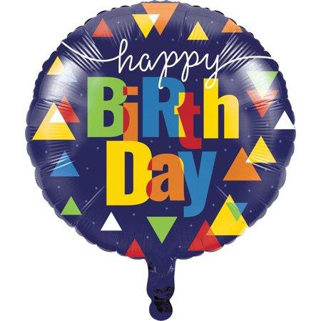 Creative Converting Geo Pop Metallic Balloon 18
