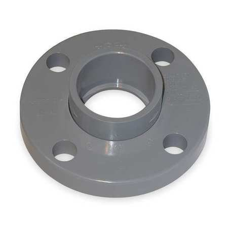 Gf Piping Systems 1  Socket Pvc Van Stone Flange Sched 80  854 010