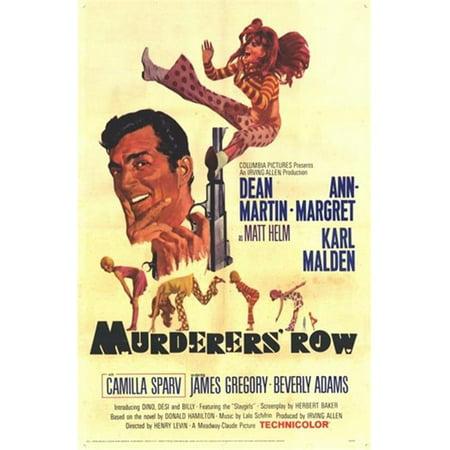 Pop Culture Graphics MOV252036 Murderers Row Movie Poster, 11 x 17 - image 1 de 1
