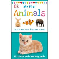 My 1st T&f Picture Cards: My First Touch and Feel Picture Cards: Animals (Other)