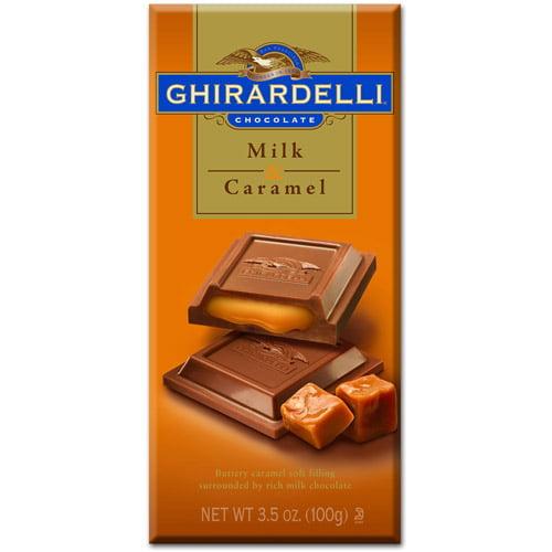 Ghirardelli Chocolate: Milk Chocolate W/Caramel Prestige, 3.50 oz