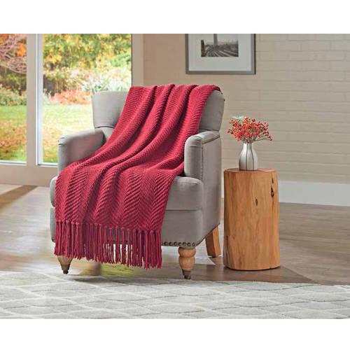 Better Homes & Gardens Chenille Throw Blanket, 1 Each