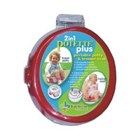 Potette Plus Training Potty - Red