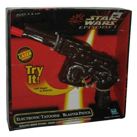 Star Wars Episode 1 Electronic Tatooine Blaster Pistol -