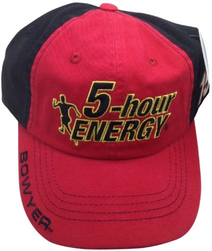 5-hour Energy Clint Bowyer #15 Hat Checkered Flag Nascar Adjustable by Checkered Flag