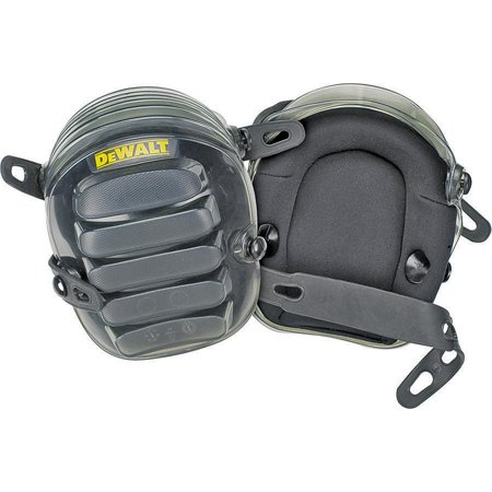 DeWalt DG5217 Swivel All Terrain Knee Pad With Layered Gel, One Size Fits All, Black ()