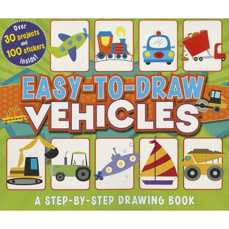 Easy-To-Draw Vehicles : A Step-By-Step Drawing Book](Halloween Drawing Easy)