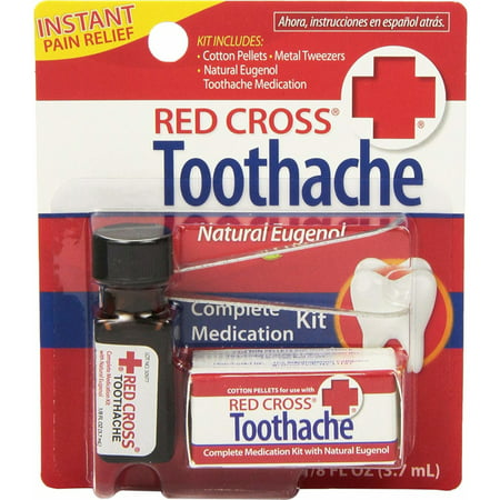 Red Cross Toothache Complete Medication Kit 0.12oz