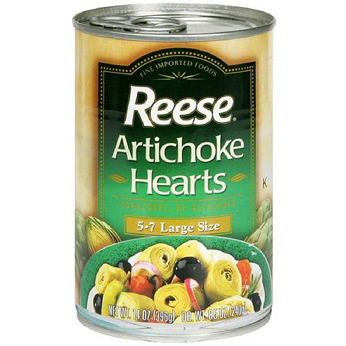 Reese Large Artichoke Hearts, 14 oz (Pack of 12)