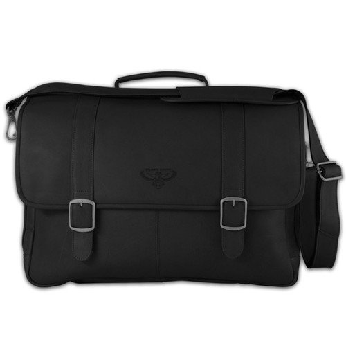 Pangea Brands NBA Porthole Laptop Leather Briefcase