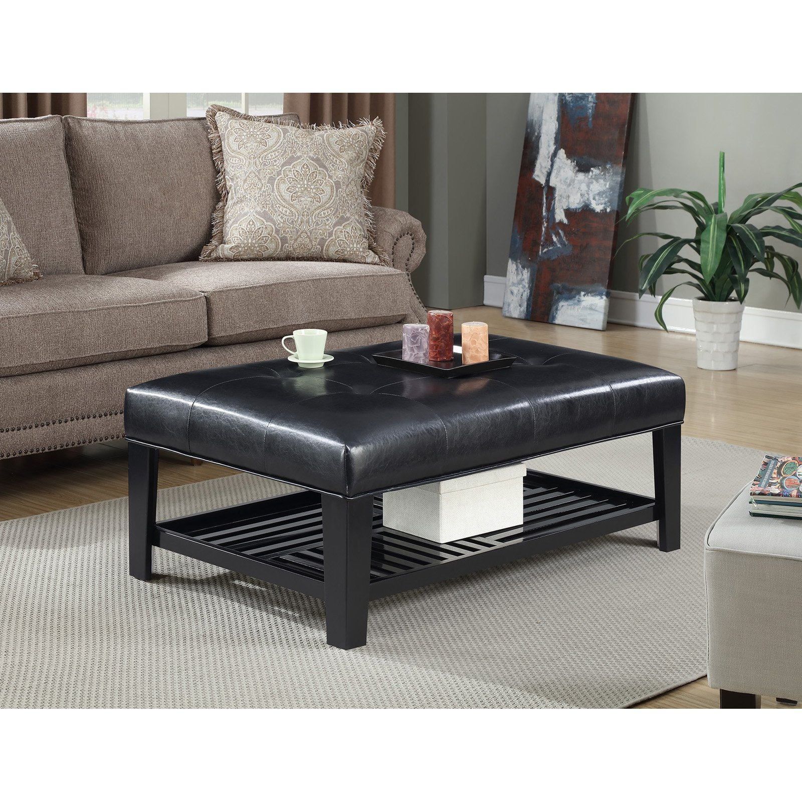 Convenience Concepts Designs4Comfort Braxton Cocktail Ottoman