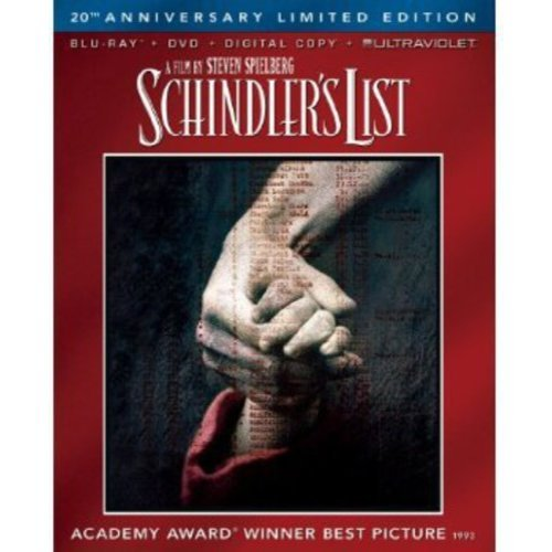 Schindler's List (20th Anniversary Limited Edition) (Blu-ray + DVD + UltraViolet) (With INSTAWATCH) (Widescreen)