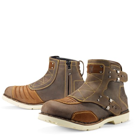 Icon 1000 El Bajo Leather Boots Oiled Brown