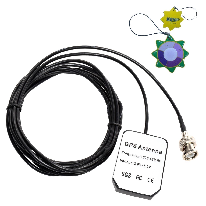 HQRP GPS Antenna for Garmin GPSMAP 521, 521s, 526, 526s, 531, 531s, 536, 536s, 541, 541s + HQRP UV Meter