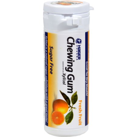 Hager Pharma Xylitol Chewing Gum   Fresh Fruit   30 Ct   Case Of 6