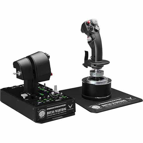 THRUSTMASTER HOTAS WARTHOG FLIGHT STICK AND THROTTLE PC