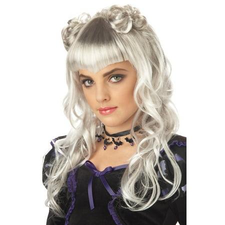 Moonlight Costume Wig (Grey) (Grey Wig Male)