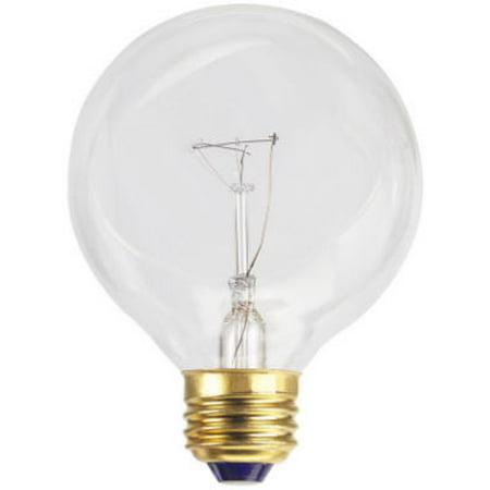 Vanity Light Bulbs Globe : GLOBE ELECTRIC COMPANY INC 25-Watt Vanity Globe Light Bulb - Walmart.com