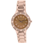 Women's NY8486 Rose-Gold Stainless-Steel Quartz Watch