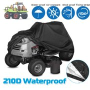 """Deluxe Tractor Storage Cover, fits Lawn Mowers with a deck up to 54"""""""